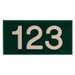 Acrylaat huisnummerborden