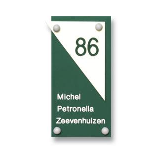 Acrylaat naamborden          serie 1